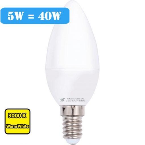 LED svijeća e14