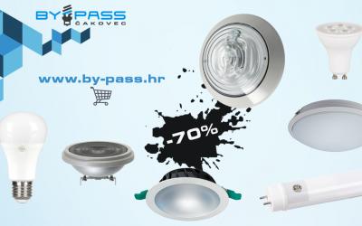 Rasprodaja LED i ostale rasvjete do čak 70%!