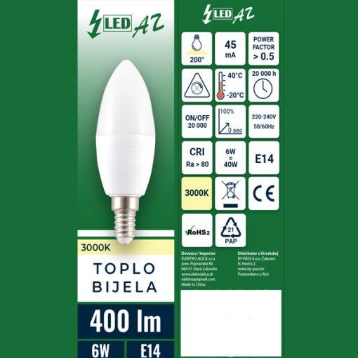 LED-zarulja-svijeća-e14