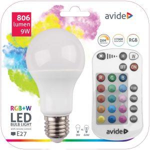 LED RGBW zarulja - daljinski