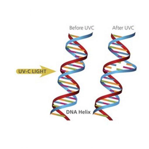 UV-C rasvjeta za pročišćavanje i dezinfekciju