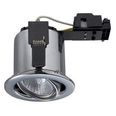Sylfire ugradna svjetiljka zakretna GU10 krom IP65/20